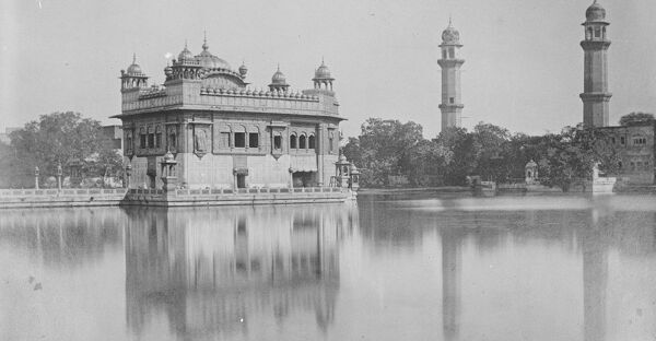 Amritsar a city in the north-western part of India showing the Golden Temple  26 August 1922