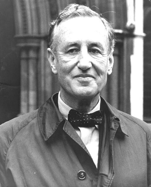 The autor Ian Fleming, creator of the James Bond novels, is being sued for copyright infringement. 20th November 1963