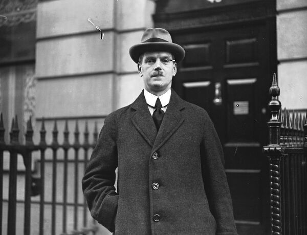 Dr Somerville Hastings, Labour MP for Reading.  11 January 1924