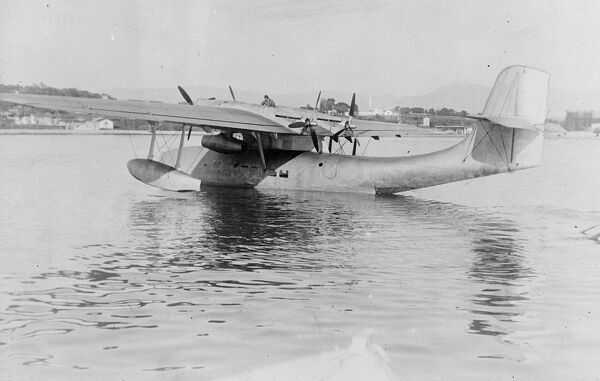 First passengers to fly across the South Atlantic this summer.  Air France flying boats will carry passengers across the South Atlantic for the first time this summer.  The Liore H47, Air France's first passenger carrying transatlantic machine