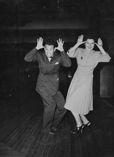 "The latest dancing craze to hit London's dance halls, which is expected to take place alongside the ""Lambeth walk"" ""Boomps-a-daisy"", ""Hokey-kokey"" and such is the ""Re-bob-bob"" which was written by the"