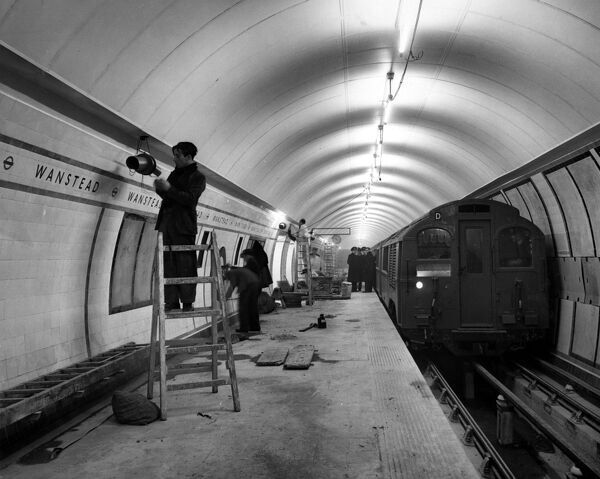 London 's ever - improving transport system carries its works programme a step further when the Minister of Transport opens the new Central Line extension from Leytonstone to Woodford and Newbury Park on the Underground