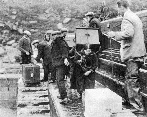 Evacuation of St Kilda, Outer Hebrides. Scotland. Sept 1930  Scotland, Outer Hebrides Scottish history