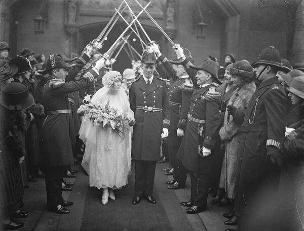 Prince George 's equerry married   The wedding of Lt Commander R G Bowes Lyon, Royal Navy, with Miss M C Russell took place at Holy Trinity Church Sloane Street  24 January 1925