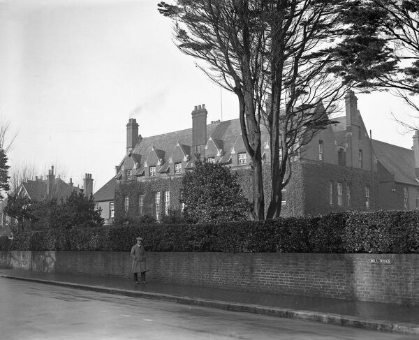 St Ronan 's Preparatory School, Mill Road, West Worthing, Sussex, at which Lord Lascelles will become a pupil.  9 December 1930