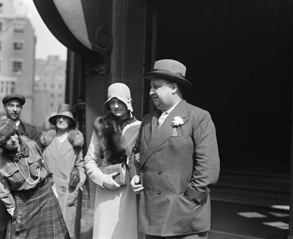 Wedding of noted King 's Counsel.   Sir Henry Curtis Bennett, the noted KC was married at Prince 's Row, Register Office, to Miss Lilian Mary Jefferies of Knightsbridge.   The bride and bridegroom.  15 August 1929