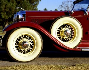 1931 car - Lincoln Model K Sport Phaeton duel cowl four door - In Greek mythology