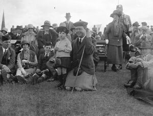 Aboyne Highland games. Lord Glentannar and Master Peter Farquhar. 9 September 1926
