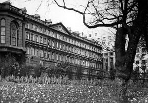 The Adelphi Terrace, seen from the embankment, London