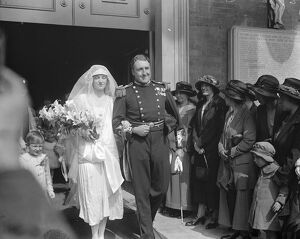 Admiral ' s sailor son weds At St Peter ' s church Eaton Square, the marriage took