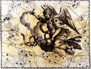 ANGELS - Gabriel The map showing the alternative to Pegasus, represented as the Archangel