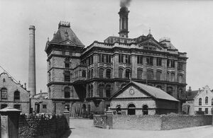 The Anglo-Bavarian Brewery in Shepton Mallet, Somerset. c.1900