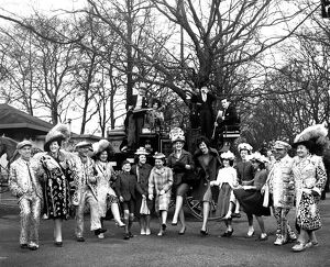The annual Easter Sunday Parade - at Battersea Park, London