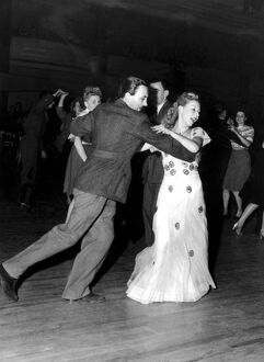 Ballroom dancing at the Hammersmith Palais de Danse 1947 dance / dancing / party