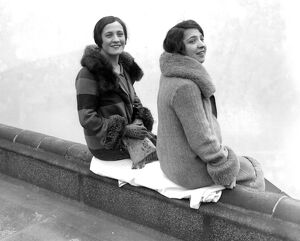 Betty and Stella Doyle, two English film stars, who have made names and a fortune