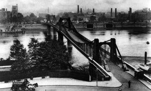 The bridge where the old horse ferry crossed from Westminster to Lambeth