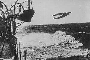 British engined flying boat flies across Atlantic. The aeroplane Plus Ultra