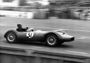 British Grand Prix : sports car race, William Archibald Scott Brown (W A Scott Brown)