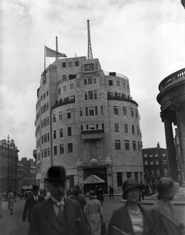 Broadcasting House, BBC Headquarters, London