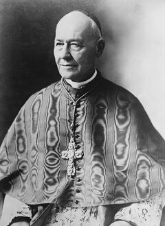 Cardinal Vannutelli, who is likely to officiate at the wedding of Prince Umberto