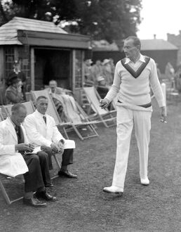 Charity Cricket Match at ' Ellens ' Rudgwick, Sussex, England