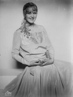Charming English actress for Australia. Miss Margaret Bannerman ( born in Toronto