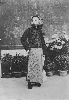 Chinese Royal Wedding The sixteen year old Manchu Emperor whose wedding in Peking