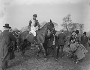 At the Christ Church and Bullingdon point to point steeplechases. Lord Stavordale
