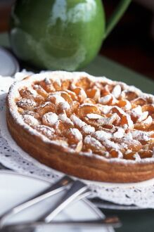 Classic French apple tart credit: Marie-Louise Avery / thePictureKitchen / TopFoto