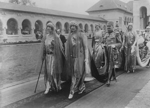 The Coronation of the King and Queen of Romania at Alba Julia Queen Marie of Serbia