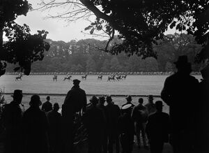 Cowdray Park polo tournament. There was the customary house party for Goodwood