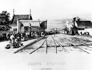 Crewe Station started service on 4 July 1837 with the opening of the Grand Junction