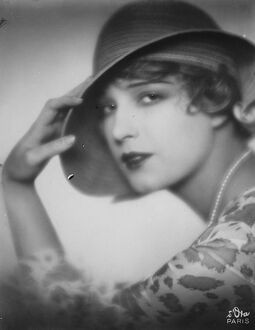 Danced with Prince George. Lili Damita. 14 September 1928