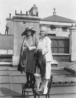The Duncan Sisters 10 October 1922 Rosetta and Vivian Duncan