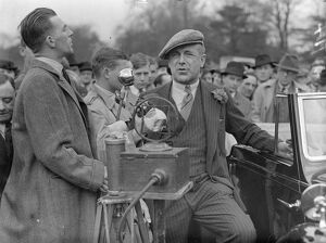 Earl Howe opens new Crystal Palace road racing track. Earl Howe, the president of