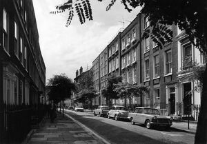 An early Georgian terrace of houses in Great Ormond Street , Bloomsbury , London