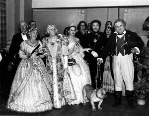 Early Victorian Ball Fancy Dress Party 1938 - Dartford Kent