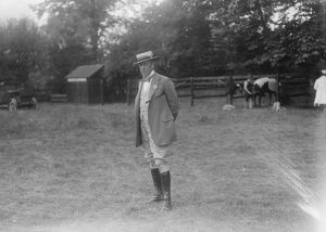 East Berks Horse show at Maidenhead Lord Willoughby De Broke 26 August 1923