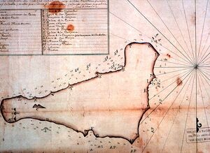 Easter Island - early maps - Lithographic reproductions of 18th century sea charts