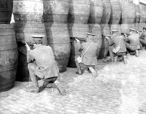 Easter Rising (originally captioned The Dublin rebellion) British Army sniping