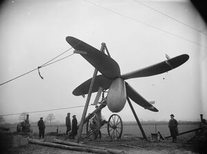 1920s/air flying machines/electricity air remarkable new type aero windmill