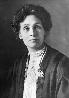 Emmeline Pankhurst (14 July 1858 - 14 June 1928)