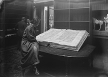 Enormous Koran measuring, when open 8 feet sold by auction at Sotheby ' s 15 October