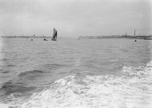 Entrance to Portsmouth Harbour 14 January 1928