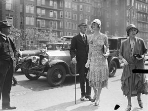 Eton versus Harrow at Lords. Prince and Princess Arthur of Connaught 1929