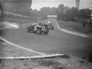 The first international car race ever held in London, the Imperial Tracey took place
