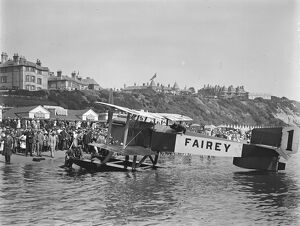 First International Seaplane Race at Bournemouth Lieutenant Colonel Vincent Nicholl