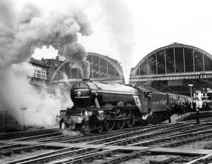 The last Flying Scotsman run to Edinburgh