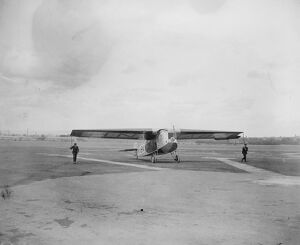 Fokker aeroplane on Dutch air service 15 May 1923