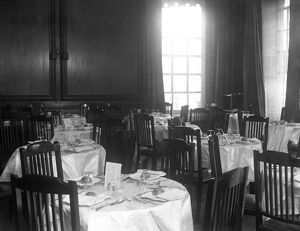 The Forum Club, 6 Grosvenor Place, London. The dining room